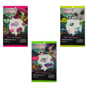 Novi Stars Body Art Tattoos (8 pcs)