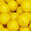 850 Count Smiley Face Gumballs