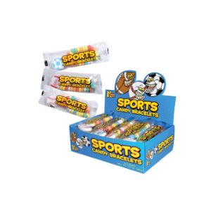 Sports Candy Bracelets Display Box (24 pcs)