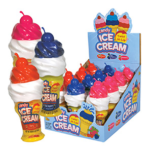 Ice Cream Twist-N-Lik Display Box (12 pcs)