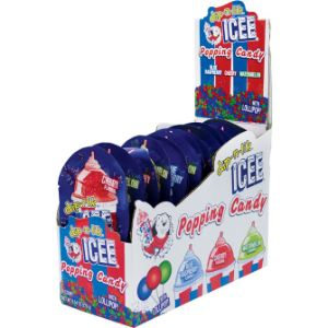 ICEE® Popping Candy with Lollipop Display Box (18 pcs)