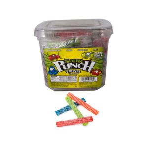Sour Punch Twists Large Tub (225 pcs)