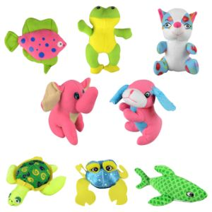 Small Generic Animal Mix 3 Plush 8'' (8 pcs)