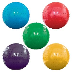 Inflatable Assorted Color Knobby Balls, 18''