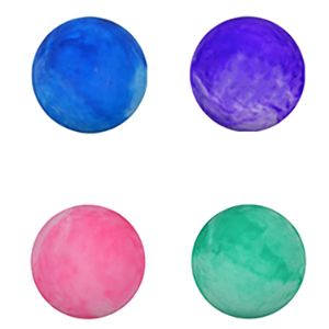 Inflatable Marble Knobby Balls, 18''