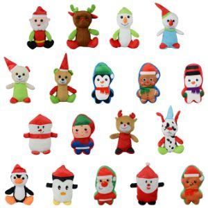 Small 100% Generic Christmas Plush Kit 6in-9in (144 pcs)