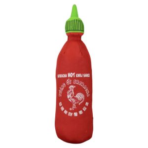 Sriracha Chile Bottle Plush 12