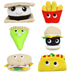 Small Happyworld Snack Food Plush Kit 6''-8'' (120 pcs)