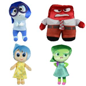 Inside-Out Plush Mix 7''-9''