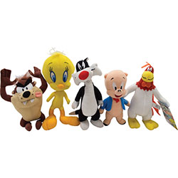 Looney Tunes Classic Characters Mix Plush 7.5''-9''