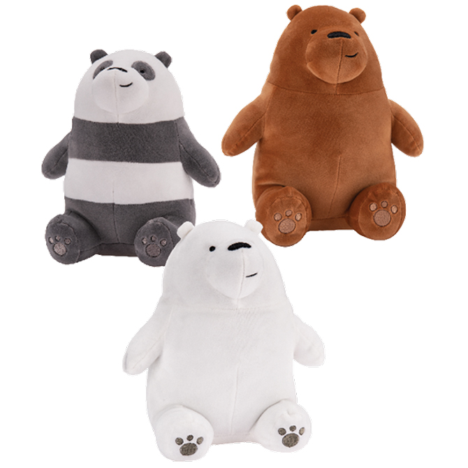 We Bare Bears Plush 7in Asst A A Global Industries