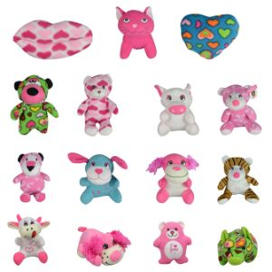 Small 100% Generic Valentines Plush Kit 6.5'' (144 pcs)