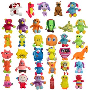 Small 25% Licensed Plush Kit 6''-9'' (180 pcs)