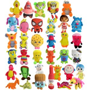 Small 33% Licensed Plush Kit 6''-11'' (180 pcs)