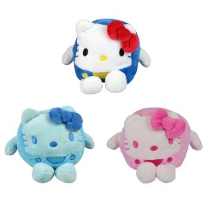 Hello Kitty Square Plush Asst Mix 4''