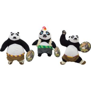 Kung Fu Panda 3 Plush Mix 6''-9''