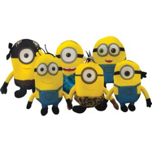 Minion Movie Mix Plush 6.5''