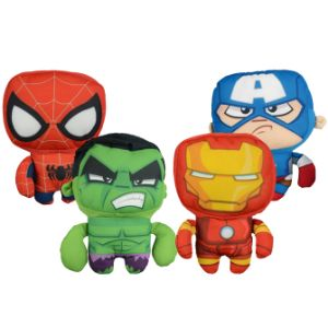 Marvel Square Heads Plush 6''