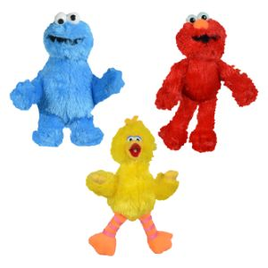 Sesame Street Plush Mix 9''