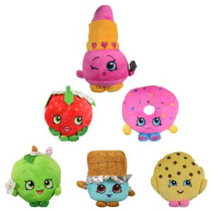 Shopkins Plush Mix 6.5'' Asst