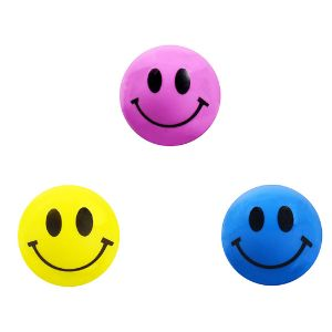 27mm Happy Face Hi-Bounce Balls (250 pcs)