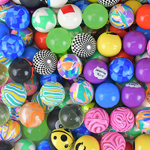 27mm Premium Ball Mix Hi-Bounce Balls (250 pcs)