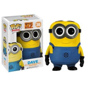 Pop Vinyl Despicable Me Dave Figure Boxed-Strapped