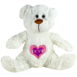 Love Me Bear Plush 15''