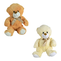 Fluffy Bear Plush 13in