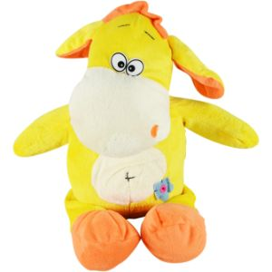 Jumbo Big Belly Donkey Plush 17''