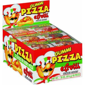eFrutti Gummi Pizza Display Box (48 pcs)