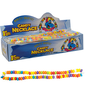 Candy Necklace 40 g Display Box (24 pcs)