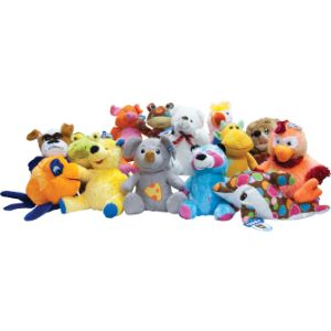 Jumbo 100% Generic Premium Plush Kit (75 pcs)