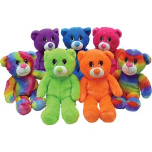 Jumbo Neon Bear Plush Kit 14''-16'' (48 pcs)