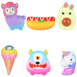 Jumbo Squishy Topper Mix 2 $10avg 8in-11in Kit (6 pcs)
