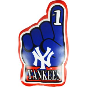 MLB Vinyl Hand Yankess Plush 9''