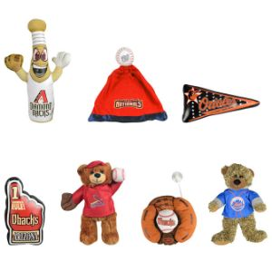 Jumbo MLB Plush 44% Arizona Plush Kit (50 pcs)