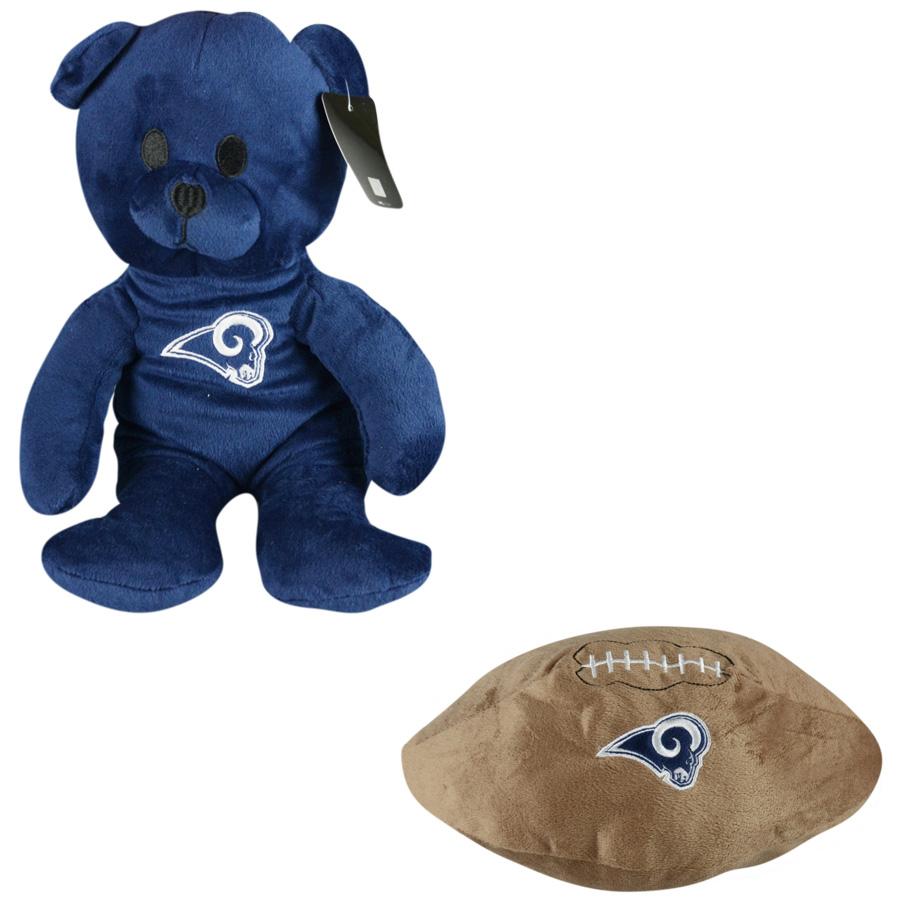 save off 1e510 0368a Jumbo NFL Los Angeles Rams Plush Kit (48 pcs)