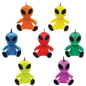 Jumbo Punk Alien Plush Kit 12'' (48 pcs)