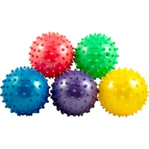3'' Inflated Assorted Knobby Balls (288 pcs)