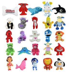 Jumbo 20% Licensed Plush Kit (75 pcs)