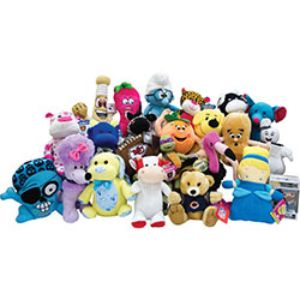 Jumbo 50% Licensed Plush Kit (75 pcs)
