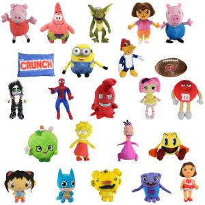 Jumbo 100% Licensed Plush Kit (50 pcs)