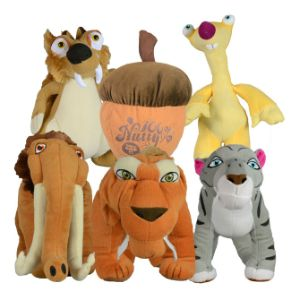 Ice Age 5 Plush Assortment (8.5''-14'')