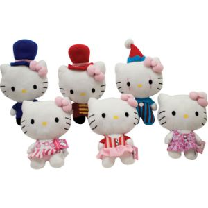 Hello Kitty Circus Plush 10.5''