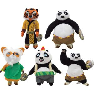 Kung Fu Panda 3 Plush Mix 10''-16''