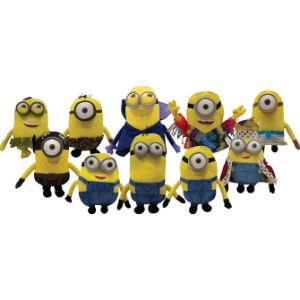 Minion Movie Plush Mix 9.5''