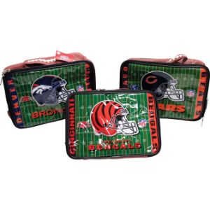NFL Vinyl Zippered Lunchbox