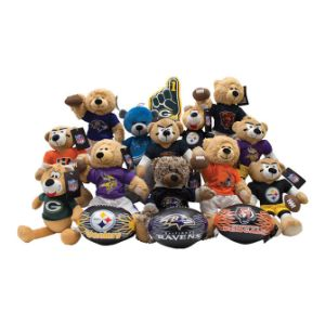 NFL North Regional JumboPlush Topper Kit 12.5'' (24 pcs)