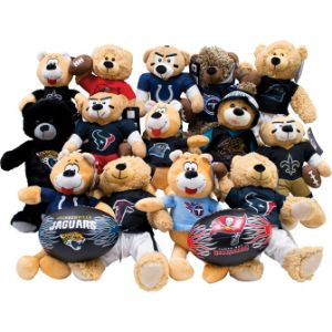 NFL South Regional Jumbo Plush Topper Kit 11'' (24 pcs)